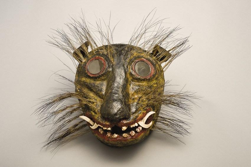Arte popular jaguar mask