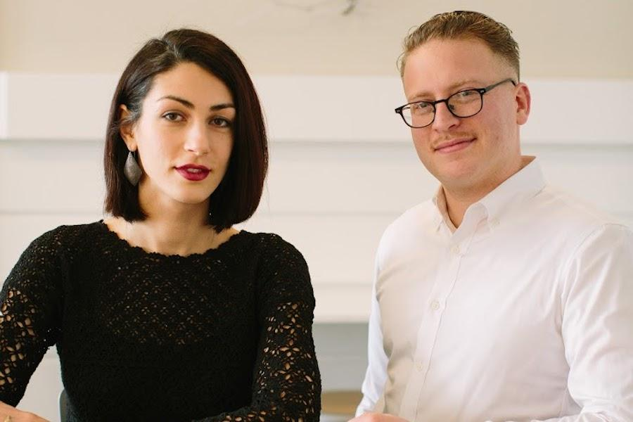 Katrina Jazayeri and Josh Lewin of Juliet and the soon-to-open Peregrine