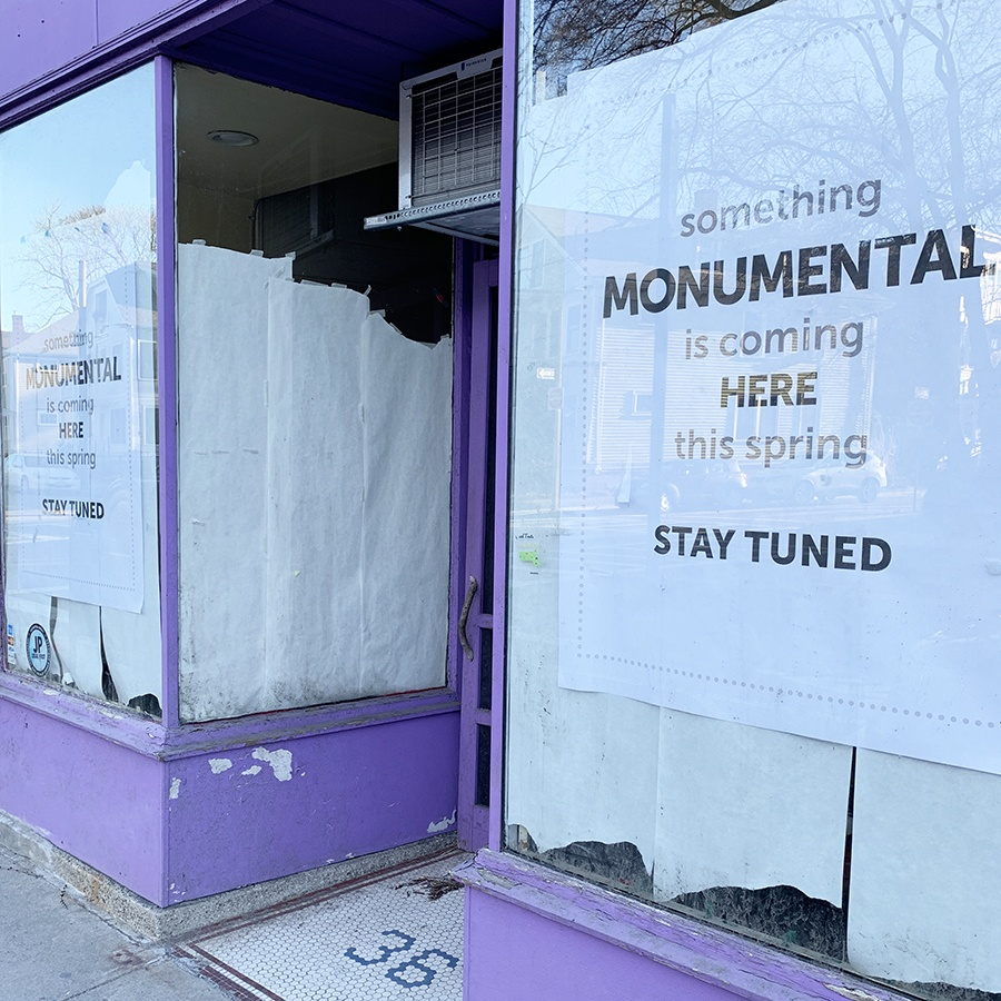 Monumental Market is headed for the former Monumental Cupcakes space in JP