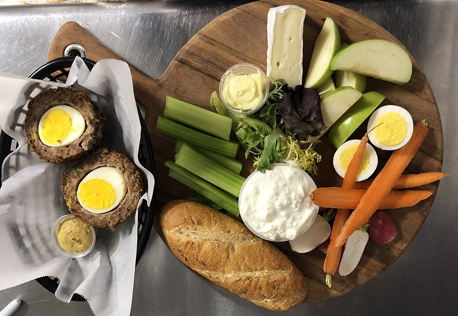 Scotch eggs, a cheese board, and more are now on the menu at Notch
