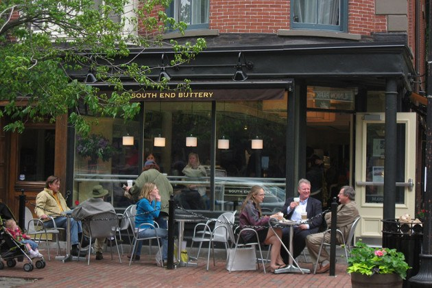 South End Buttery patio