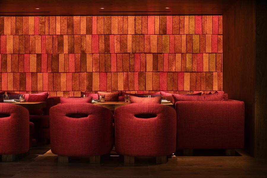 Lounge at Zuma Rome