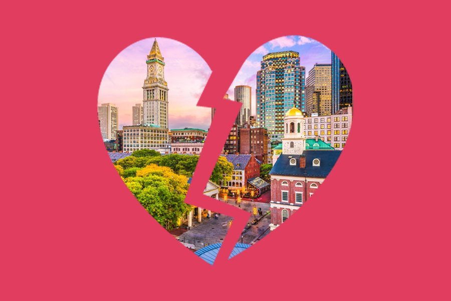 broken heart boston