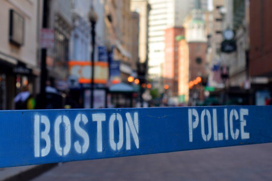 boston police barricade