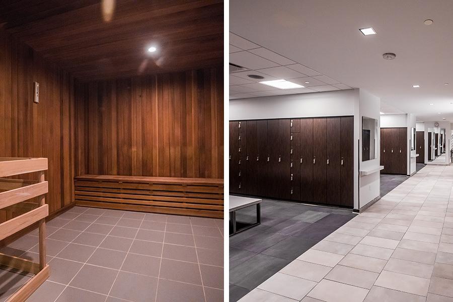 best locker rooms