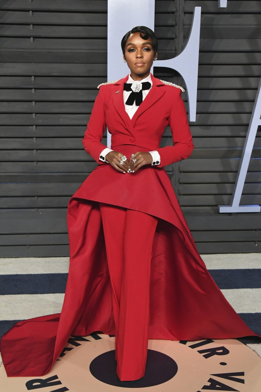 Janelle Monáe at the 2018 Vanity Fair Oscar Party