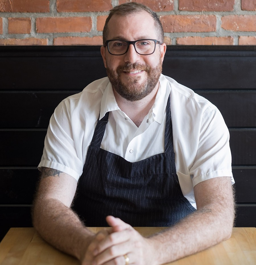 Chef David Punch of Buttonwood
