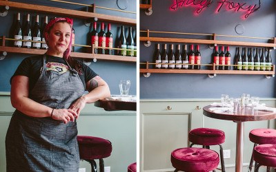 Chef Karen Akunowicz at her South Boston restaurant Fox & the Knife