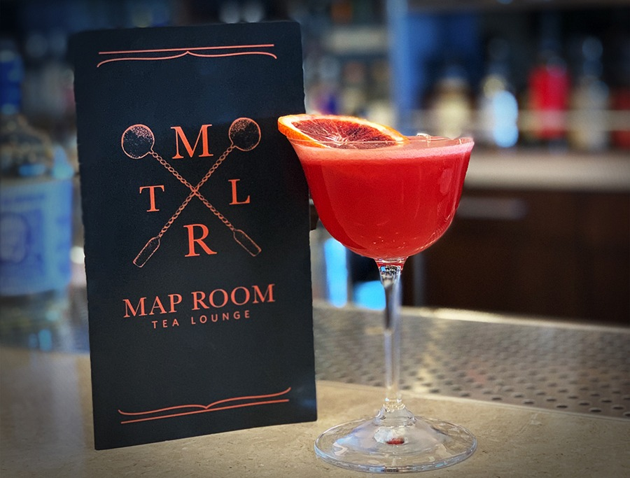The Map Room Tea Lounge opens this week with literary-inspired cocktails and a new food menu