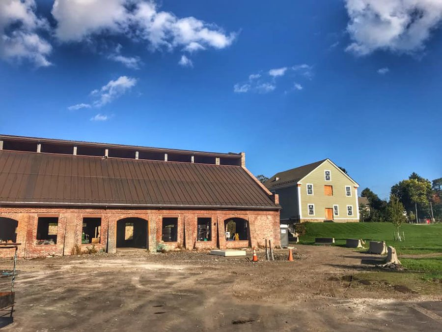The historic Revere copper rolling mill (left) will be home to Northern Spy restaurant