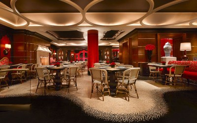 Red 8, an upscale Chinese restaurant at Wynn Casino in Las Vegas