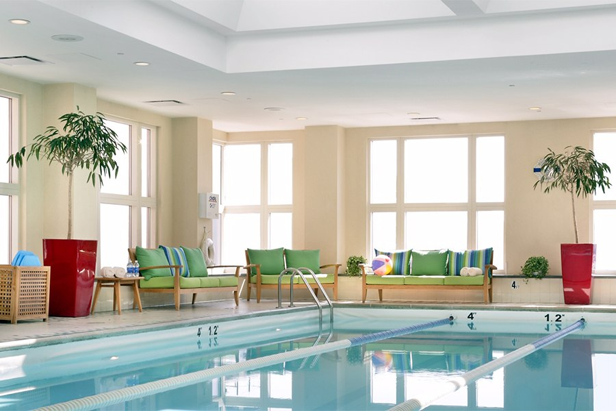 seaport hotel pool