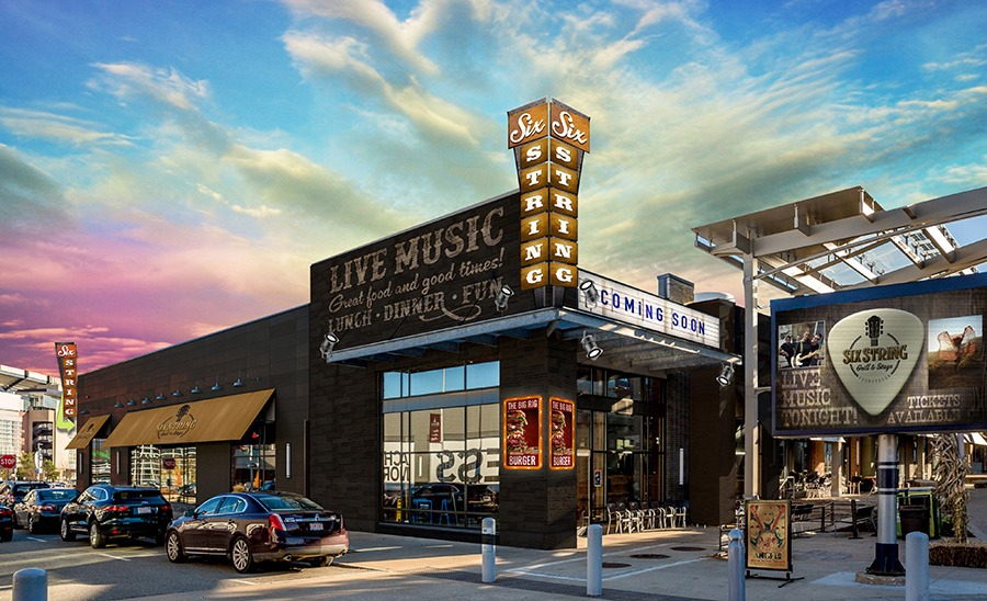 Six String Grill & Stage rendering