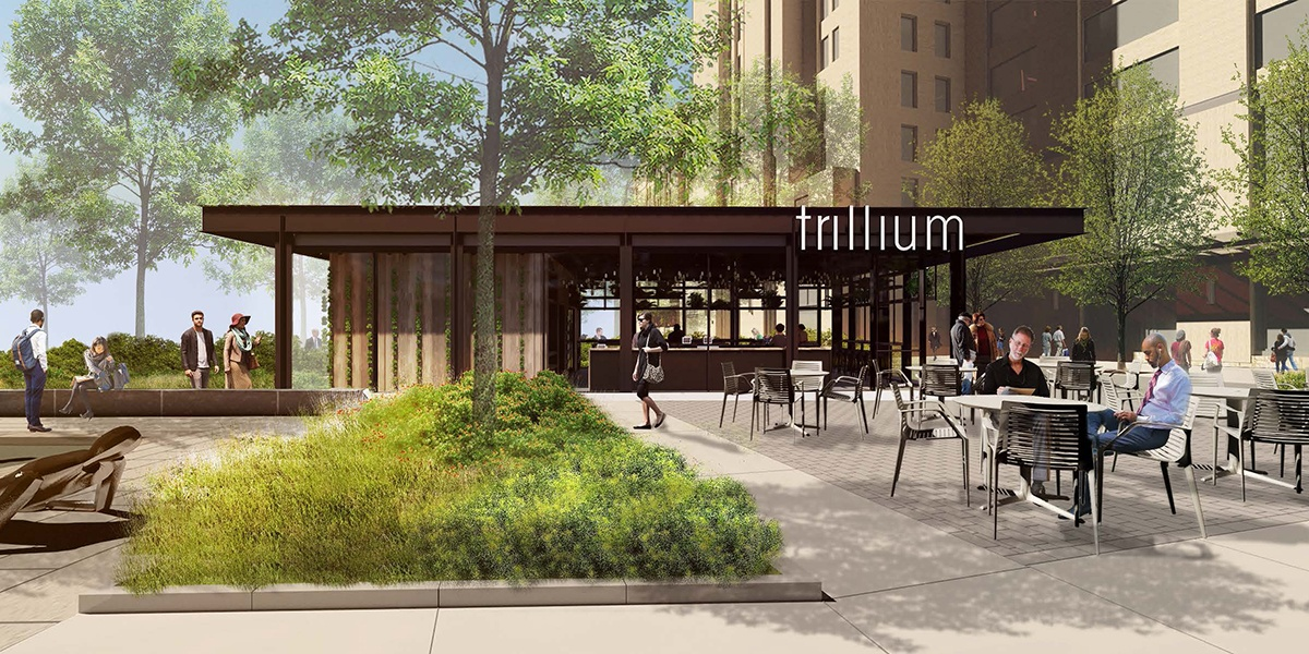 """Trillium will open a year-round, """"greenhouse-inspired"""" venue in the Fenway summer 2019"""