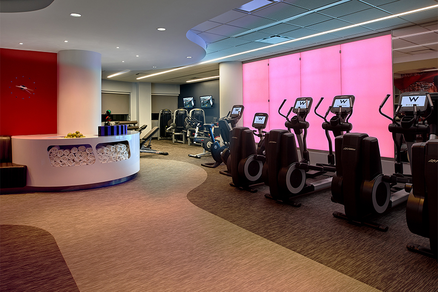 w hotel fit center