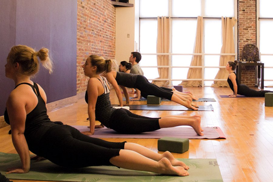 yoga studios Boston
