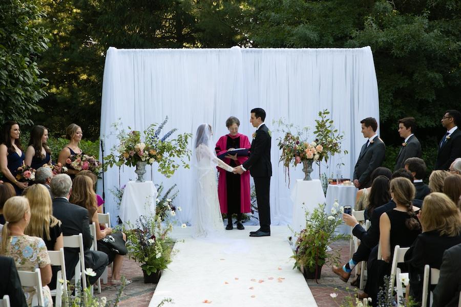 backyard wedding newton