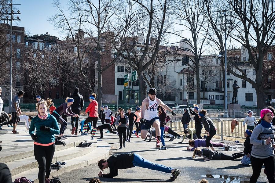 Esplanade free fitness