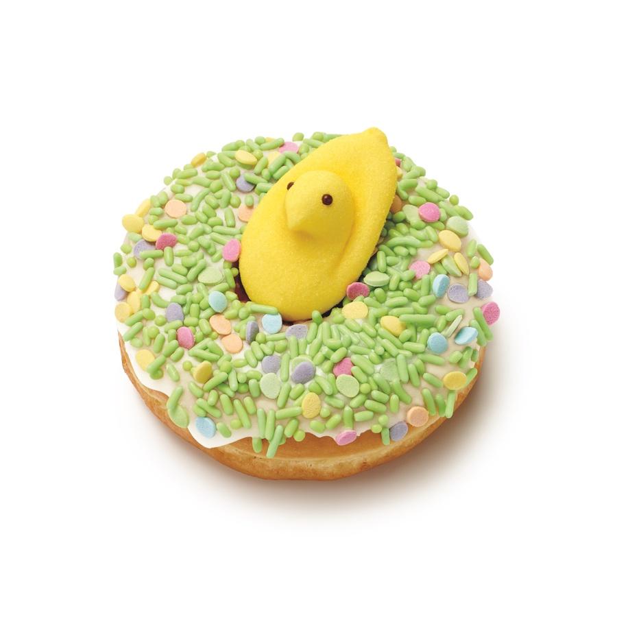 peeps dunkin donut