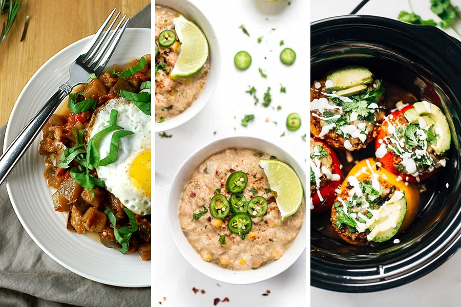vegetarian crock-pot recipes