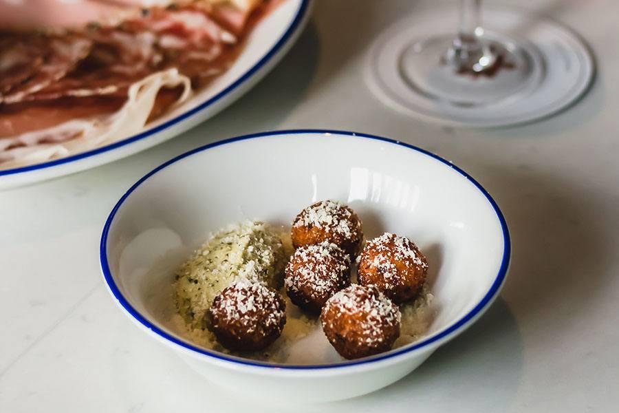 arancini at Bar Mezzana