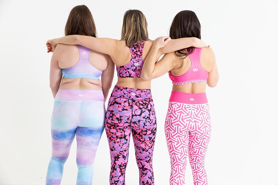 BoldBody's printed sports bras and leggings
