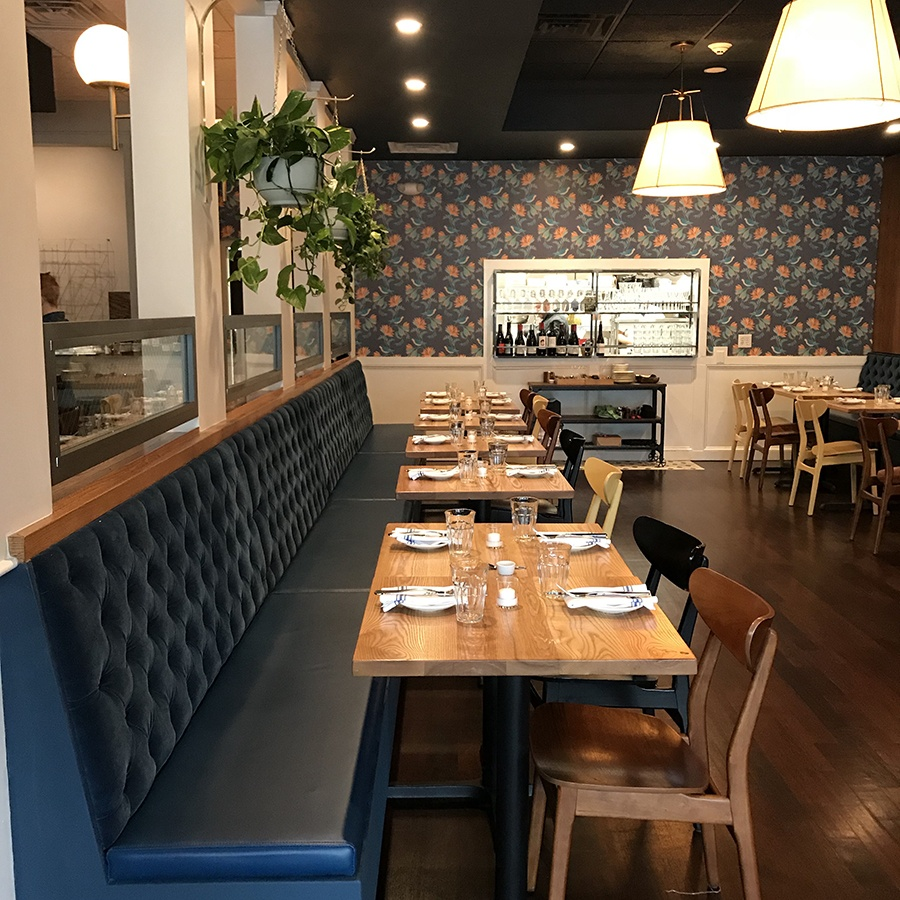 A spruced-up Buttonwood restaurant is now open nightly for dinner and drinks in Newton Highlands.
