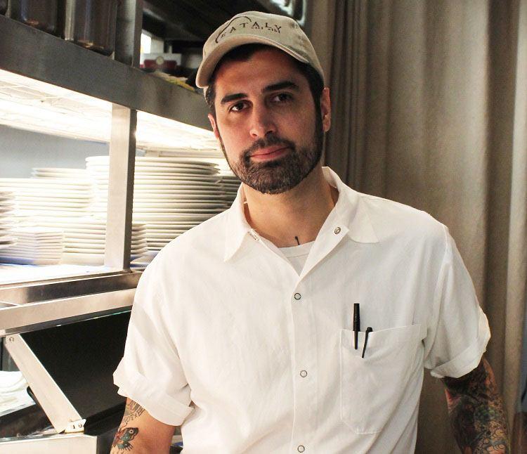 Eataly Boston executive chef Sam de los Santos
