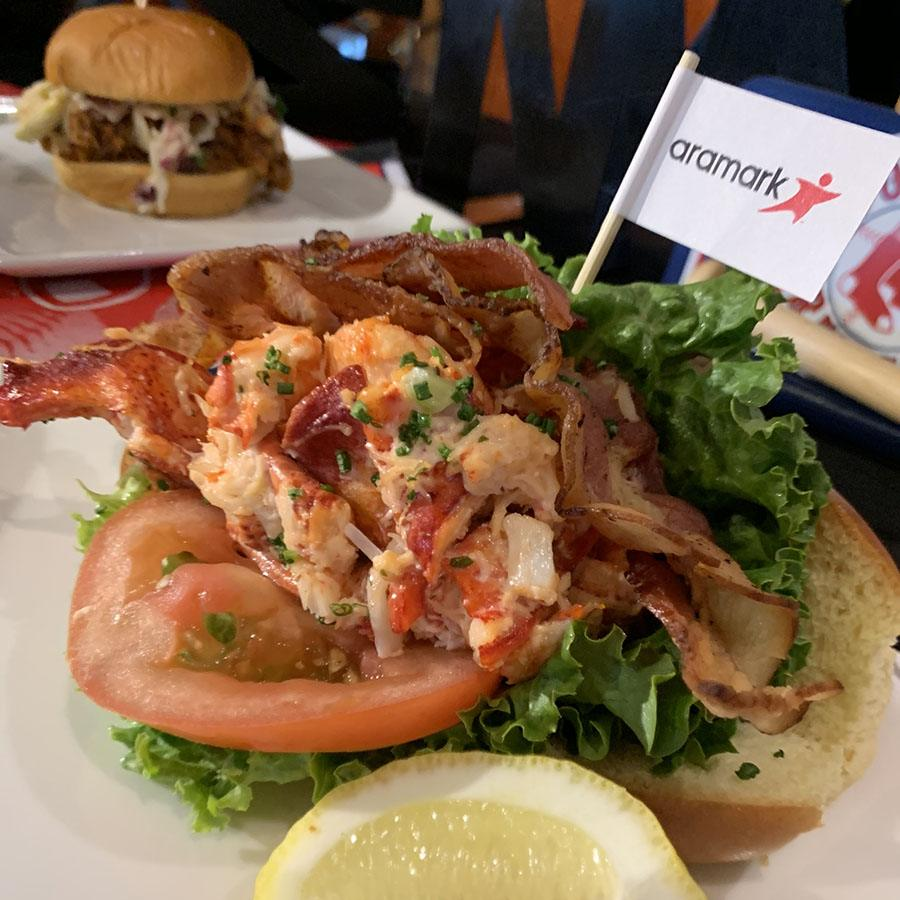 Yankee Lobster and Savenor's bacon comprise Fenway Park's new lobster BLT
