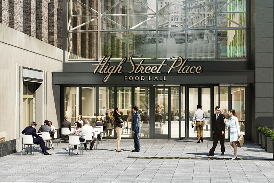 High Street Place exterior rendering
