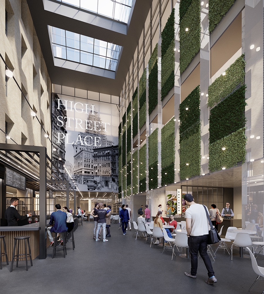 High Street Place interior rendering