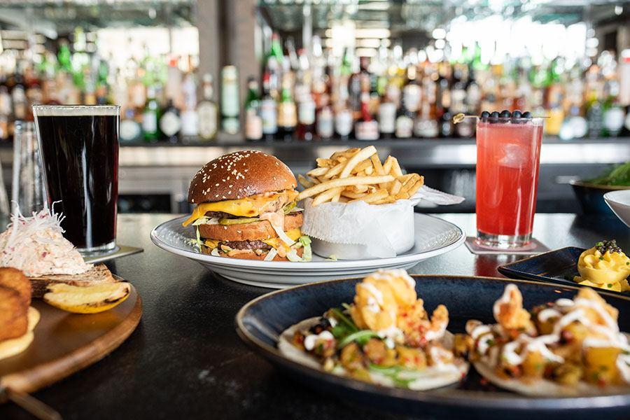 Burger and more new bar menu items at ICOB in Kenmore Square