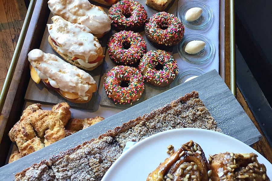 Oak + Rowan pastry cart