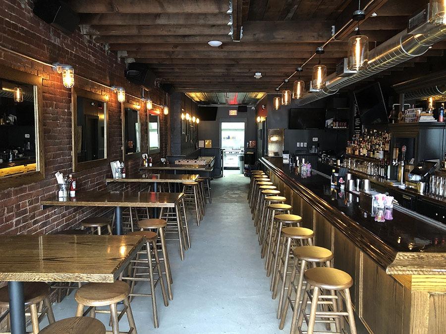 The Quiet Few bar in East Boston