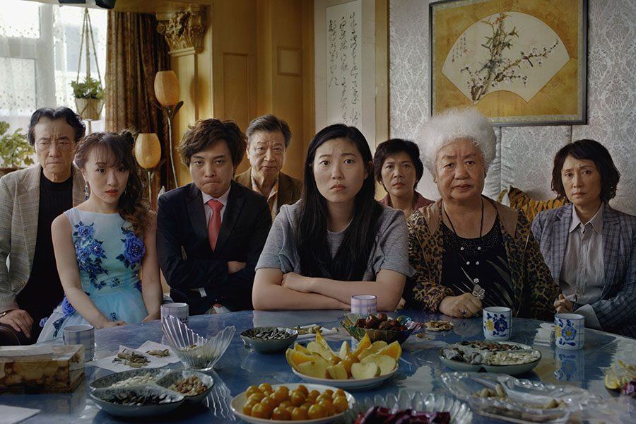 still from the film The Farewell