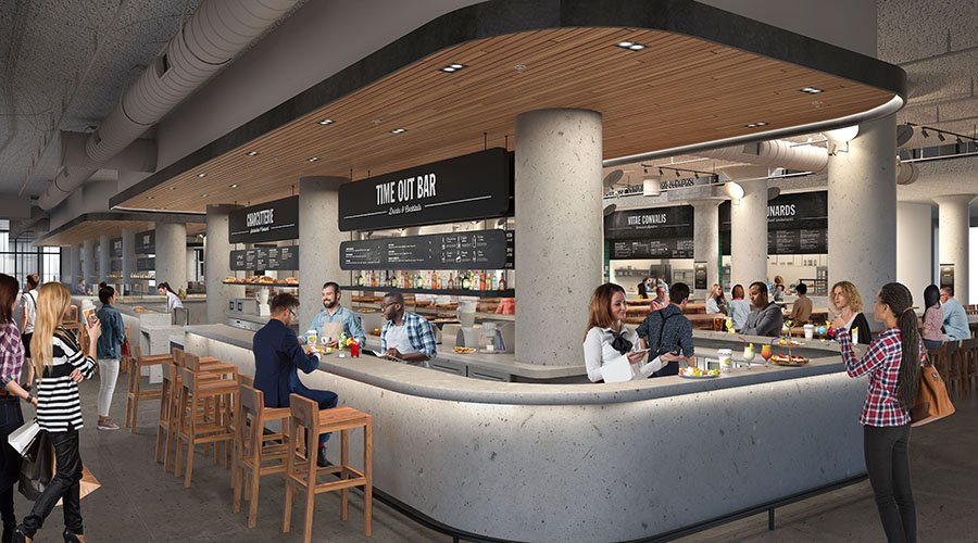 Time Out Market Boston rendering