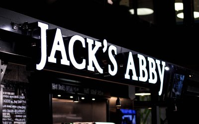 Track Zero Taproom by Jack's Abby at North Station in Boston