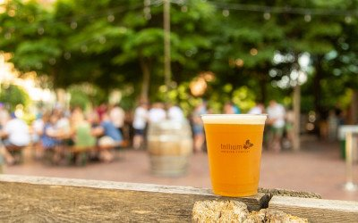 Trillium Garden on the Greenway photo courtesy of Trillium Brewing Co.
