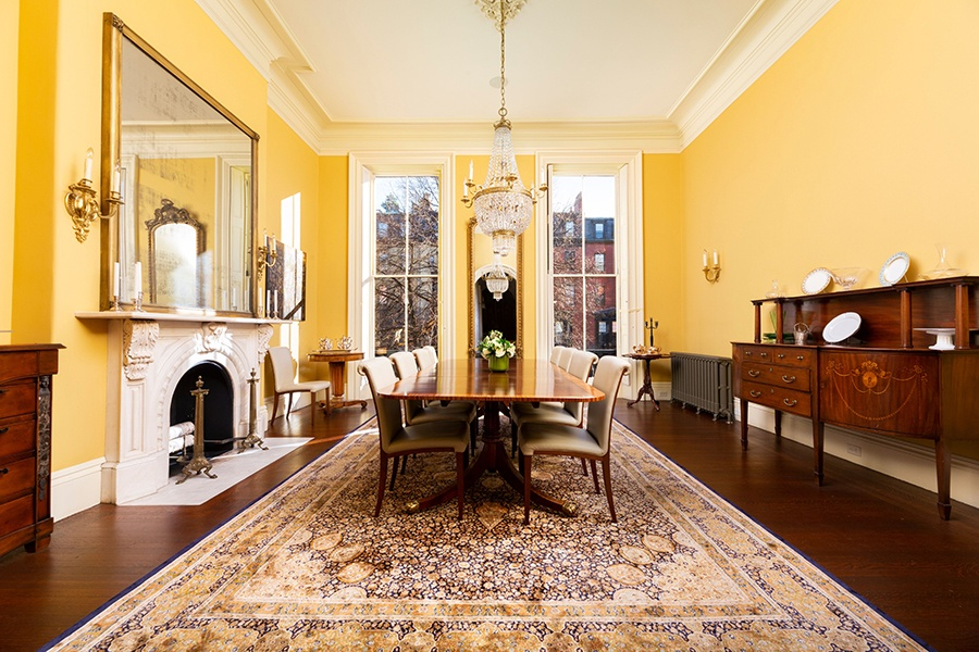 Back Bay brownstone