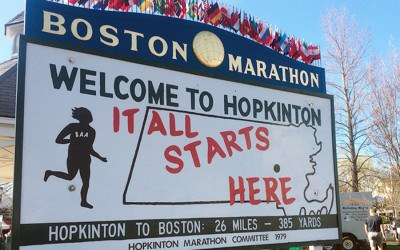 Boston marathon events