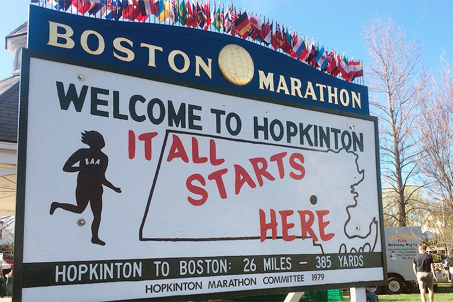 Boston marathon events