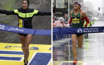 elite athletes Boston Marathon 2019