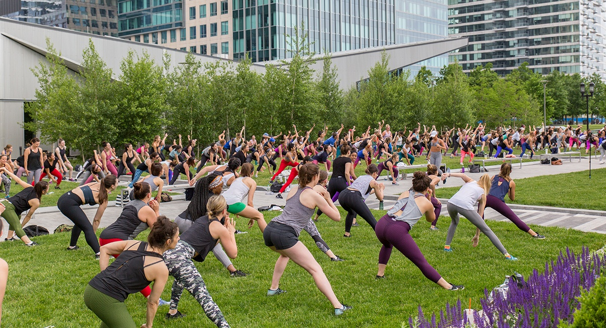The First of the Free Outdoor Fitness Schedules Is Here