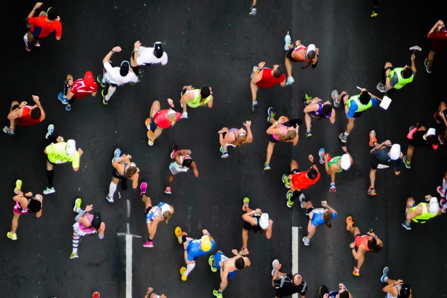 marathon overhead