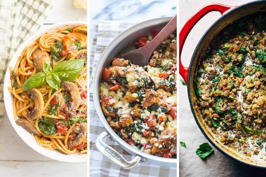 one pot vegetarian meals