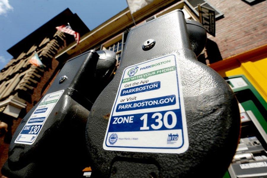 Boston parking meters