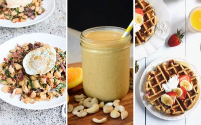 pre- and post-workout snacks