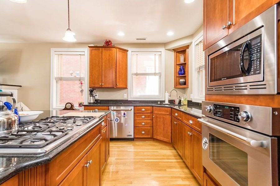 east boston condo kitchen