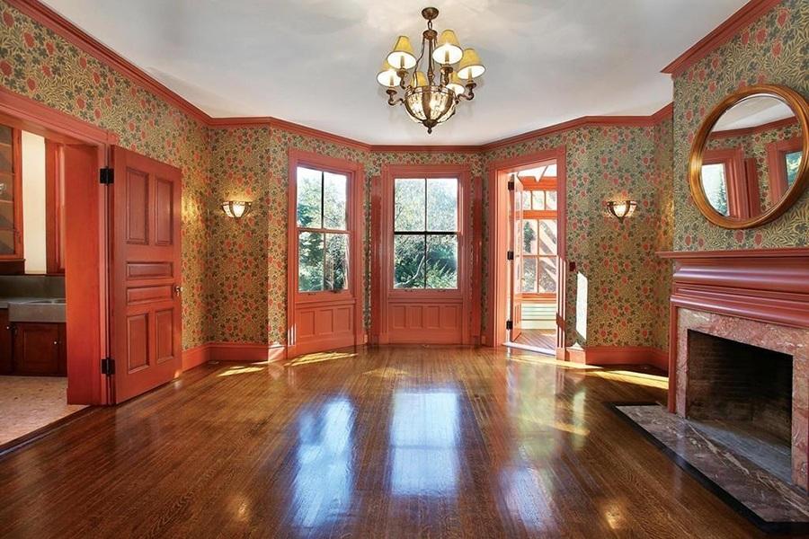 brookline mansion dining room