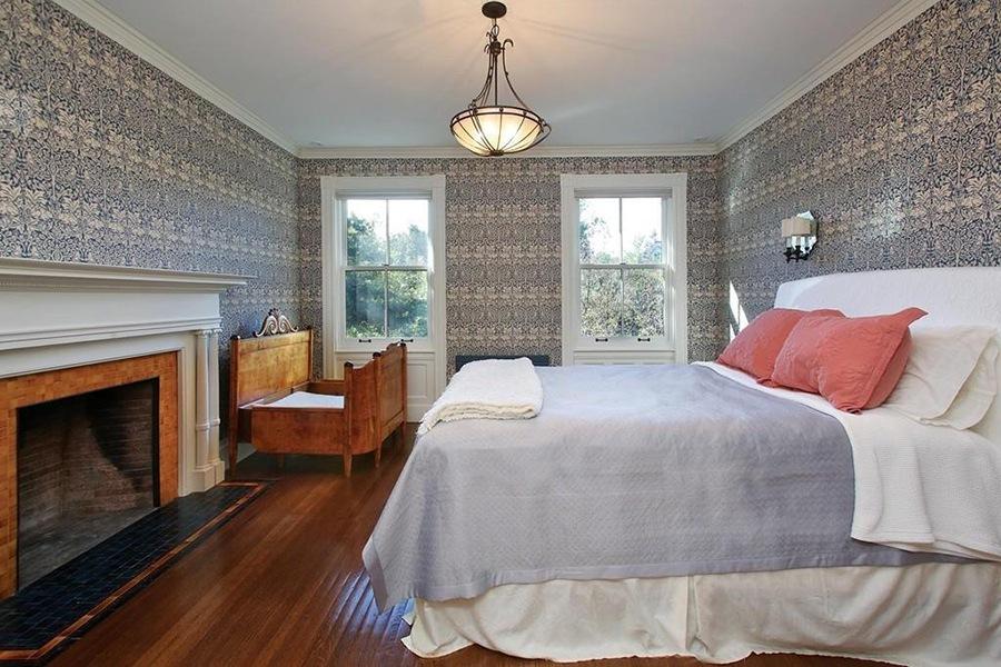 brookline mansion bedroom